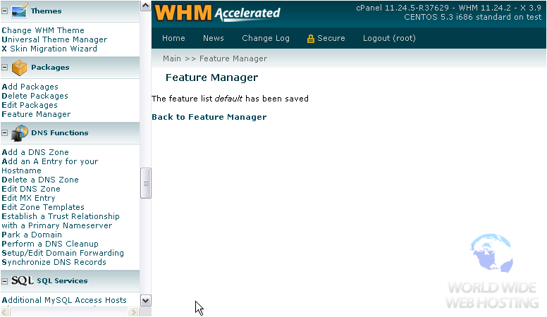 feature manager
