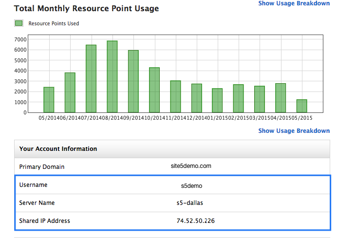 how to find your cpanel ip address