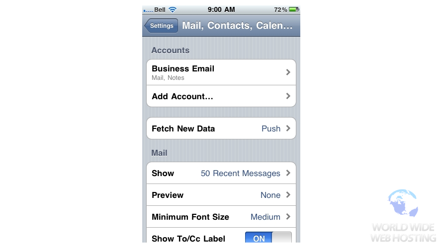 gmail imap settings iphone site5 knowledgebase 187 email how to setup a email account 14197