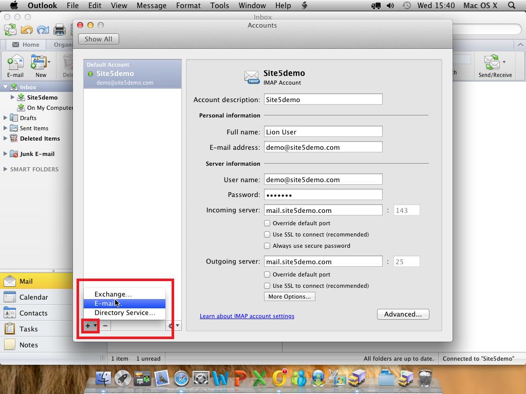 Outlook для Mac скачать - фото 6